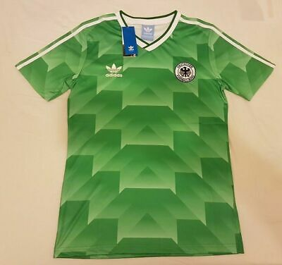 1990 West Germany Away Retro Football Soccer Shirt jersey Vintage Classic UK