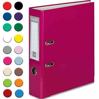 A4 75mm Large Metal Lever Arch Files Folders Ring Binder Paper Document Storage