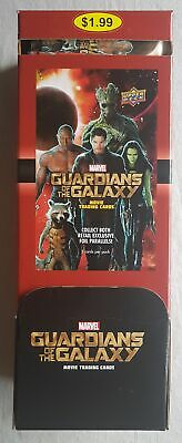 Guardians of the Galaxy Box Upper Deck Trading cards 2018 2 Inserts!!