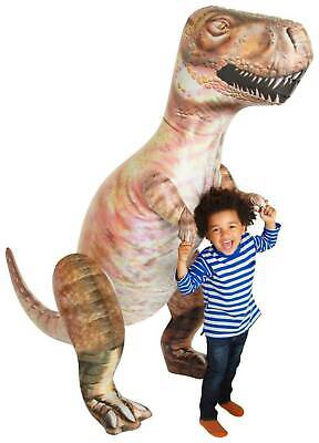 """Inflatable Blow Up Giant Large Dinosaur T-Rex Jurassic Theme Party Toy 5ft 10"""""""