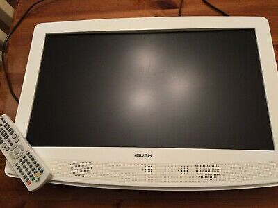 """Bush HD-ready digital LCD TV with built-in DVD player BTVD91216W white 22"""""""