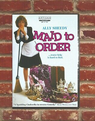MAID TO ORDER (1987) - Ally Sheedy Beverly D'Angelo Valerie Perrine Dick Shawn