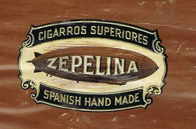 ZEPELINA cigar label & Johns Manville Asbestocel sign Consolidated archives