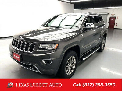 2014 Jeep Grand Cherokee Overland Texas Direct Auto 2014 Overland Used 5.7L V8 16V Automatic 4WD SUV
