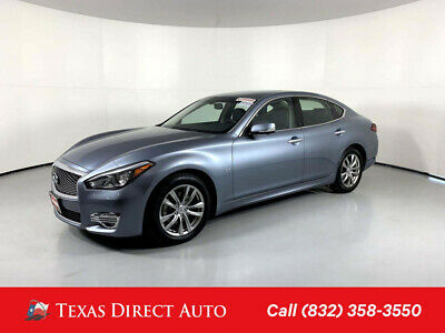 2019 Infiniti Q70 3.7 LUXE Texas Direct Auto 2019 3.7 LUXE Used 3.7L V6 24V Automatic RWD Sedan Bose