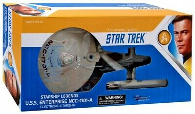 Star Trek USS Enterprise NCC 1701 A Undiscovered Country Ship Diamond Select Toy