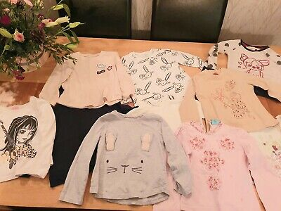 Large Bundle Of Girls Clothes Age 3-4 Mayoral, Next Pampolina Plus More
