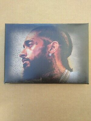 Portrait Of Nipsey Hussle that he posed for before he  died