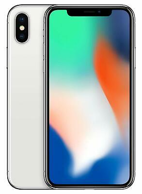 Apple iPhone X 64GB Silver, AT&T/T-Mobile Verizon+ GSM Unlocked 4G LTE IOS