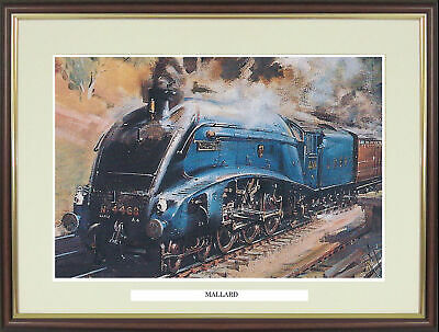 "Steam Train Engine Locomotive picture ""Mallard"" by Terence Cuneo - NGNS5"