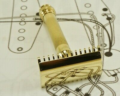 Vintage Gillette Ball-End Old Type Double Edge Safety Razor (Clean)