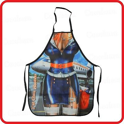 APRON-ATTITUDE FUNNY-SEXY MUSCLE POLICE MAN OFFICER COP-KITCHEN-COOKING-PARTY-2