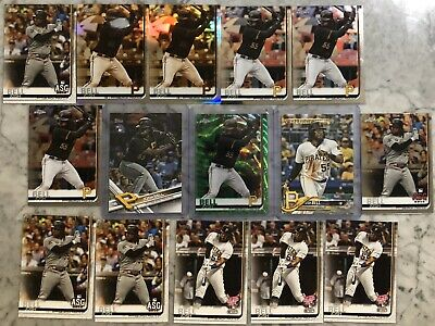 2017 Topps 2019 Topps Chrome Josh Bell Green Wave Sepia