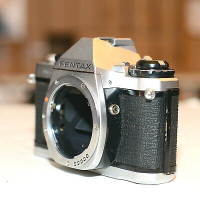 Vintage Pentax MV-1 35mm SLR Body in Great Condition, TESTED, WORKING GREAT!