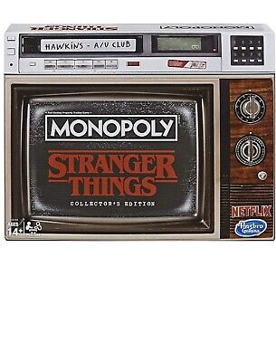 Monopoly Stranger Things Collectors Edition Board Game - NEW SEALED AND IN HAND