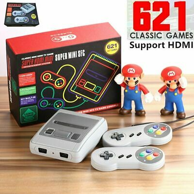621 Games in 1 Classic Mini Game Console for NES Retro TV HDMI Gamepads Nintendo