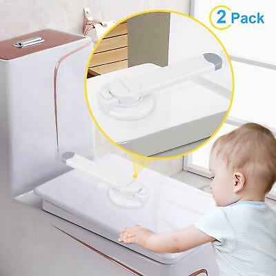 Toilet Locks Child Safety Baby Proof Toilet Lid Lock Bathroom Seat Locks 2 packs