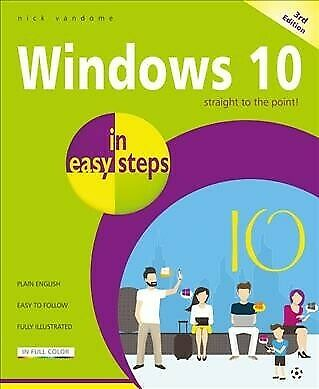 Windows 10 in Easy Steps, Paperback by Vandome, Nick, Like New Used, Free P&P...