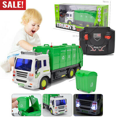 Toys for Kids Remote Control Truck Rubbish Car3 4 5 6 7 8 9 10 11 years Age Gift