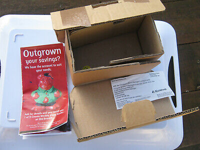 Natwest Cousin Wesley Box Only  Owned Since 2006 & Slip & Copy Leaflet Included