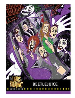 Lights of Broadway Beetlejuice Card From The 2019 Series