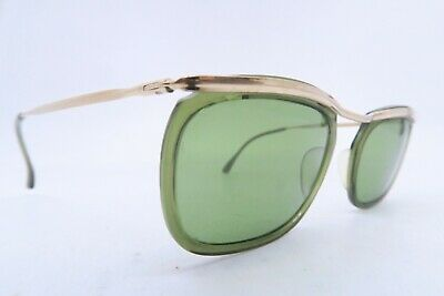 Vintage 50s gold filled sunglasses Doublé Or Laminé men small France ****