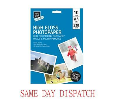 A4 230gsm DUO MATTE Multi Buys FSC GLOSS DOUBLE SIDED inkjet photo paper