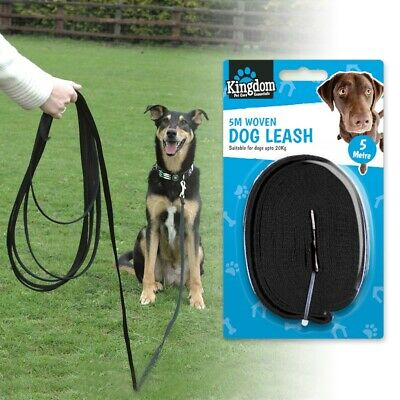 PUPPY TRAINING LEAD Strong Safety Leash Walking Obedience Padded Handle Long 5M