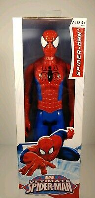 Ultimate SpiderMan Action Figure Marvel Avengers Titan Hero Series Hasbro 12 in