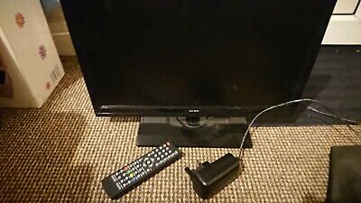 """Alba 19""""HD Ready Digital LED Tv with built in Dvd player."""