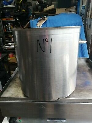 No1 Stainless Steel  Cooking Pot 420Mm X 530Mm With Handles X 410Mm  High