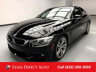 2017 BMW 4-Series 440i Texas Direct Auto 2017 440i Used Turbo 3L I6 24V Automatic RWD Coupe Premium