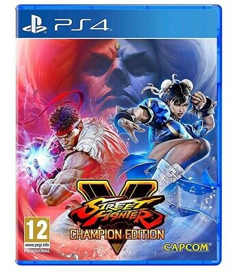 Street Fighter V: Champions Edition Ps4 Videogioco Play Station 4 Italiano Nuovo
