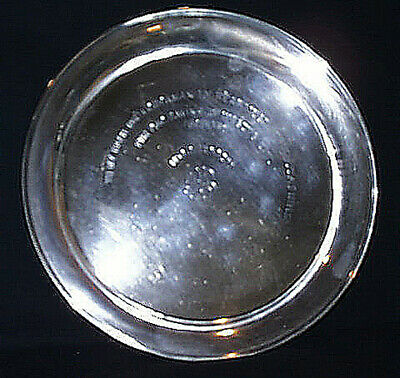 Unique Antique Sterling Platter Personal Presentation Given For Saving A Life