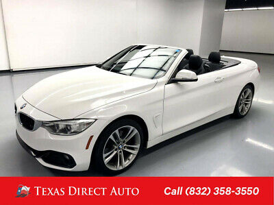 2016 BMW 4-Series 428i Texas Direct Auto 2016 428i Used Turbo 2L I4 16V Automatic RWD Convertible