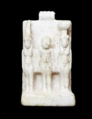 Egyptian King Menkaure Triad amulet Antiques Antiquities Egypt