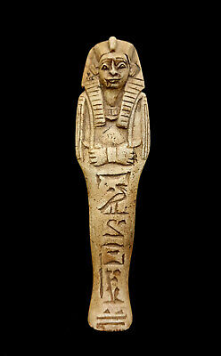 Egyptian Osiris Rare Ancient Carved Fabulous Stone Antique Sculpture Collectible