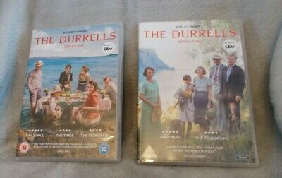 ITV Keeley Hawes - The Durrells - Complete Series 1&2 (4 Disc DVD Set, 2016/17)