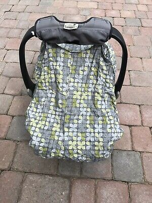 Cozy Cover Infant Carrier Cover - Secure Baby Car Seat Cover And Carry Case