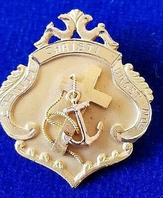 Nursing academy pin, 14k solid gold, 1923, super nice