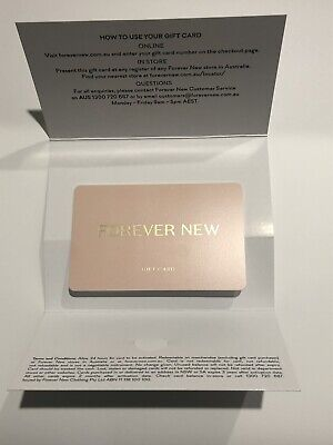 Forever New Gift Card - Value $439 expiry 3 Years - 11/2022)