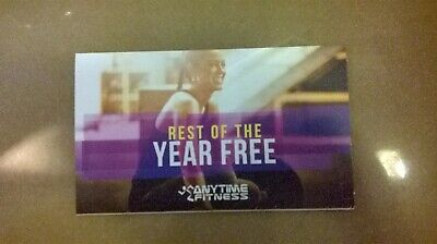 Anytime Fitness Rest of the Year Free Offer (East Brisbane or Stones Corner)
