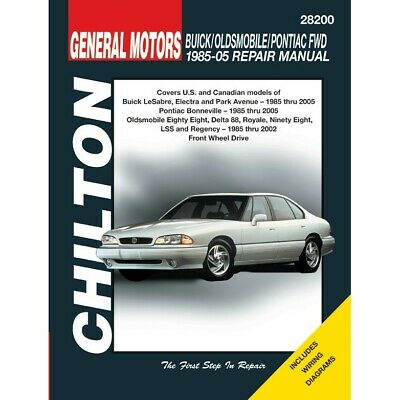 28200 Chilton Repair Manual New for Olds Le Sabre NINETY EIGHT Buick LeSabre 98