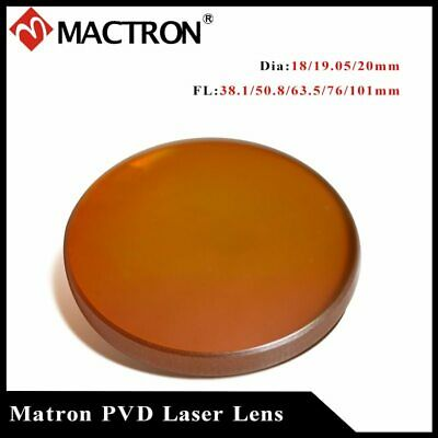 (Promotion) Lowest Price High Quality Mactron ZnSe PVD Laser Lens 20mm Dia Focus