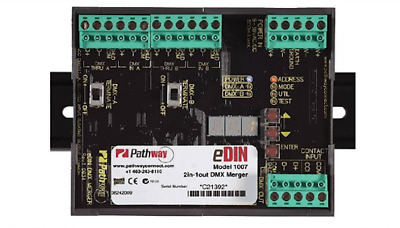 Pathway Connectivity 1007 EDIN DMX 2 into 1 merger 512 output