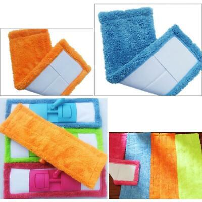 Microfibre Coral Mops Heads Refill Replacement Dust Cloth Washable Cleaning Pads