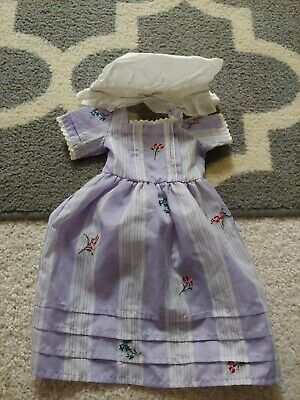 American Girl Doll Meet Felicity Purple  Dress