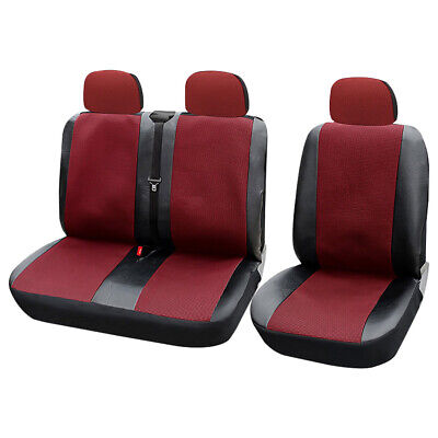 Car Truck Van Pickup Front Seat Covers Set Universal Protector Cushion Polyester