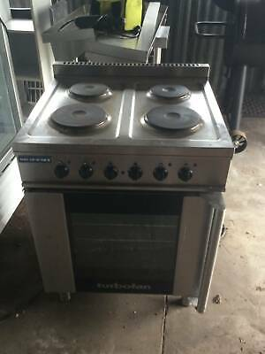 Electric Convection Oven & Cooktop Cafe / Restaurant