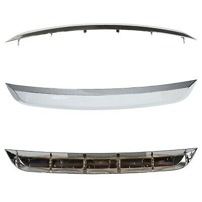 New Grille Trim Grill Lower Chrome For Ford Fusion 2010-2012